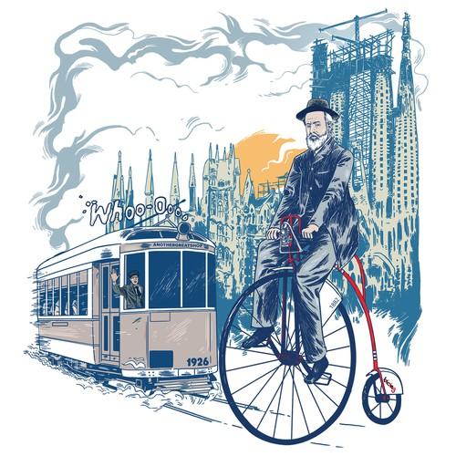Gaudi Shirt Design