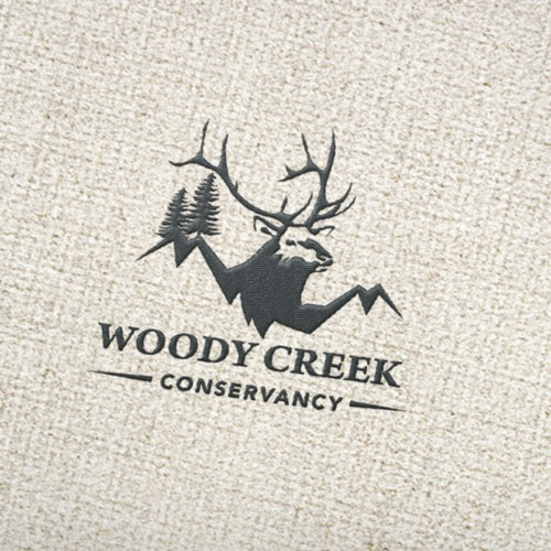 Rustic Logo for Woody Creek Conservancy