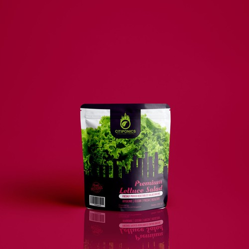 Packaging concept for Citiponics