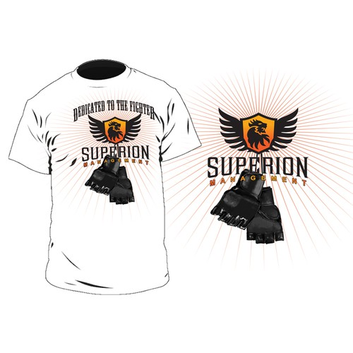 Create the next t-shirt design for MMA Management Company