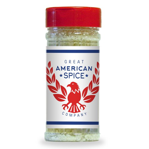 Bold Logo for an American Spice Company