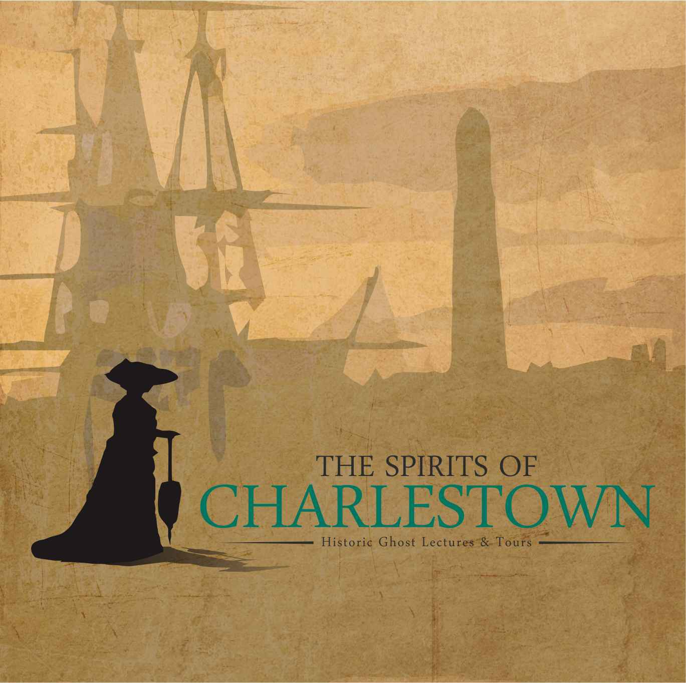 logo for The Spirits of Charlestown