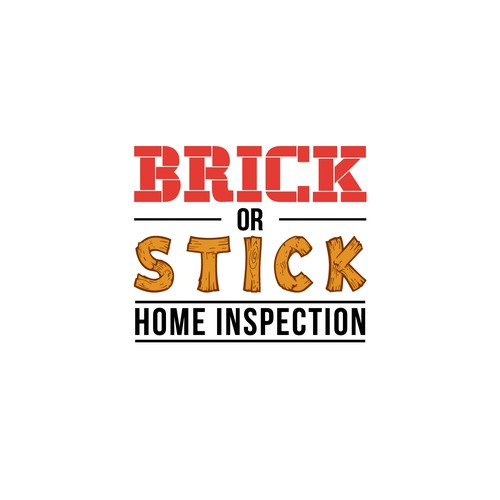 Logo for Brick or Stick Home Inspection