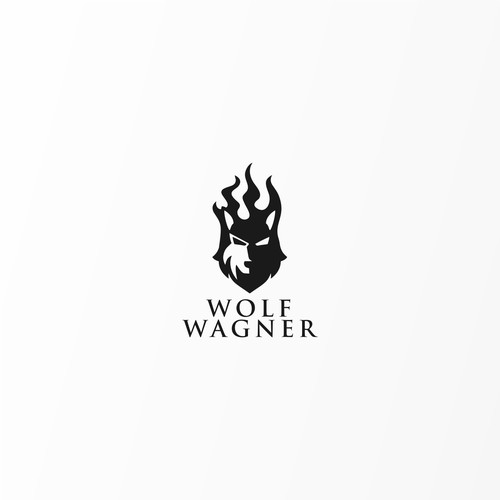 Bold Logo concept for Wolf Wagner