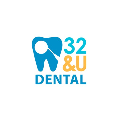Friendly and welcoming dental office logo