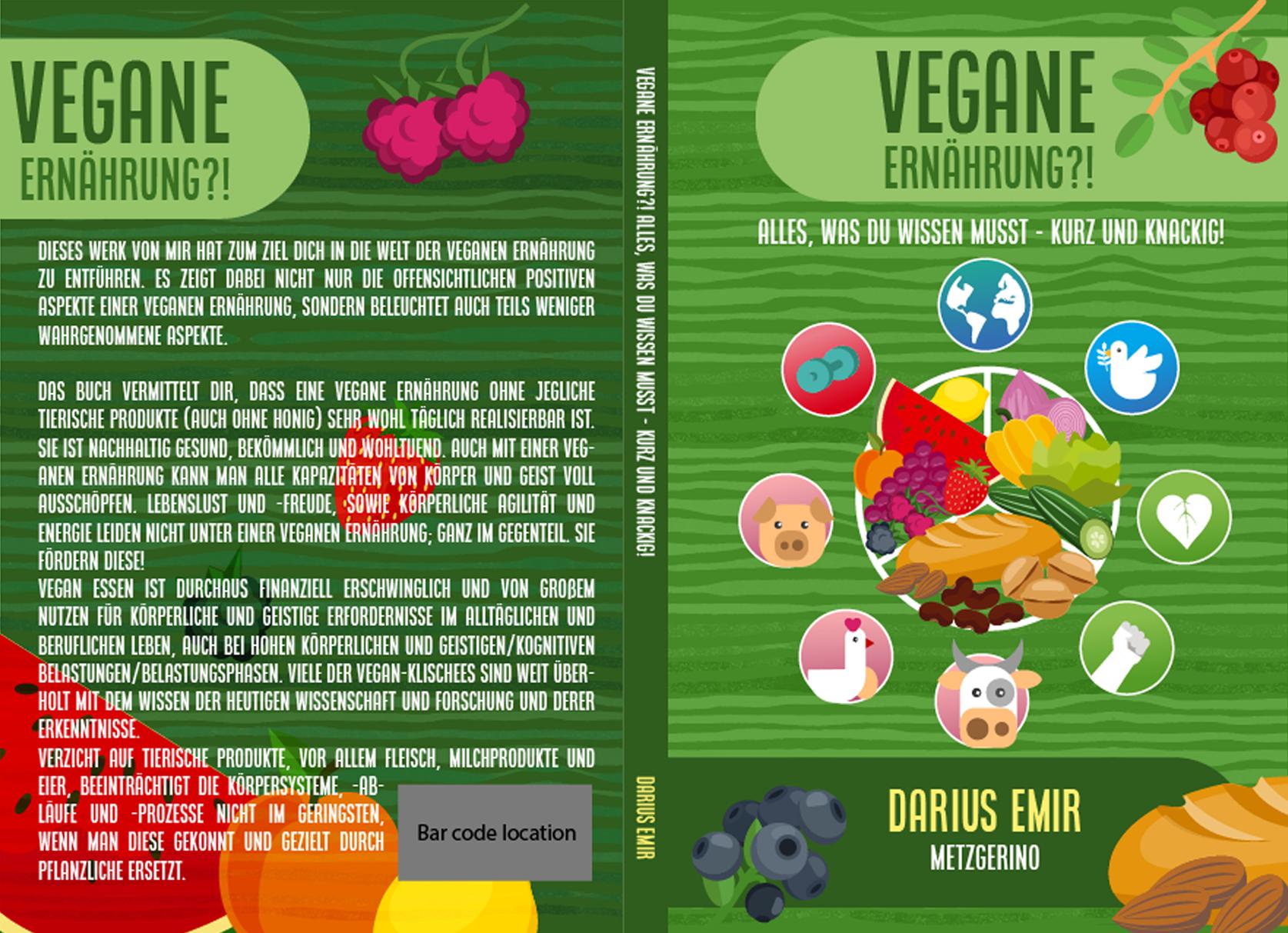 Vegan (Essen, Fitness, Gesundheit, Klima, Umweltschutz) braucht ein aussagekräftiges Design und Logo
