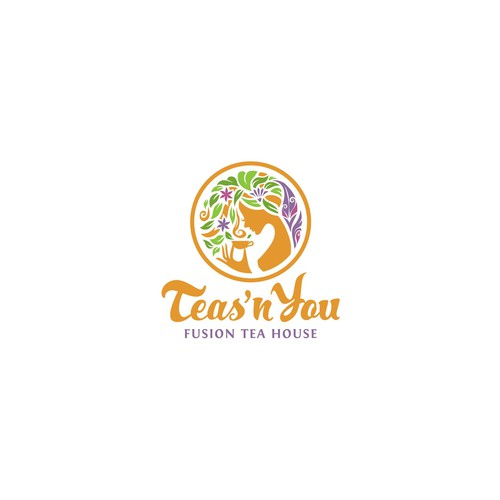 Teas'n You Logo Design