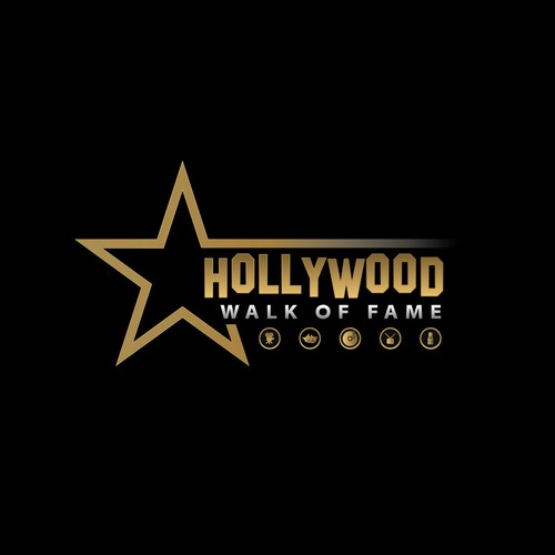 A Hollywood Star - Walk of Fame logo