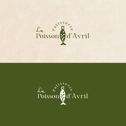 Logo for patisserie shop