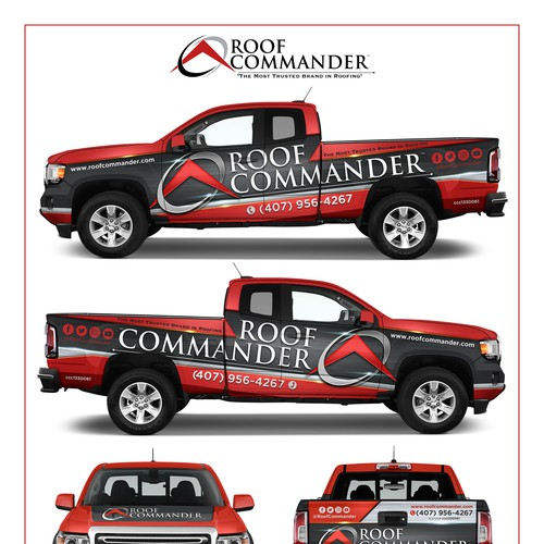 Van Design for Roof Commander