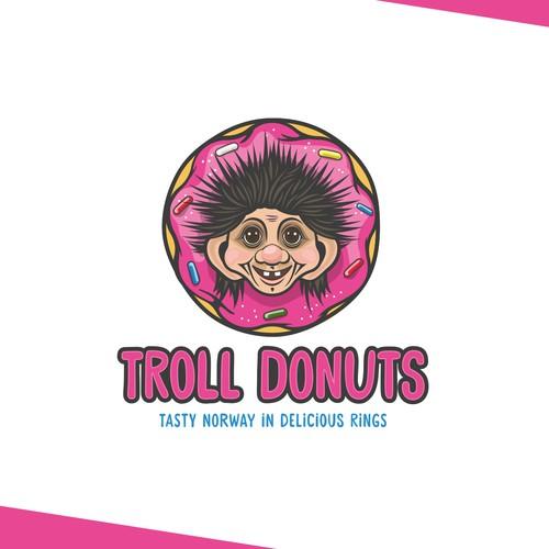 Logo for Norwegian Troll Donuts
