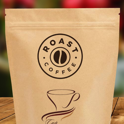 Design bags for new global coffee company ROAST
