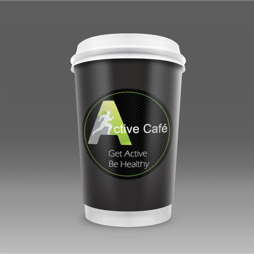 Active Cafe Sticker