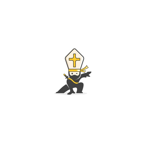 Fun Logo for Pope Ninja