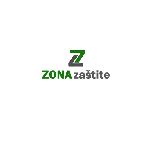 Logo concept for Zona zaštite
