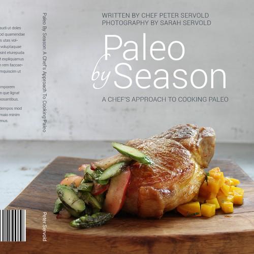 Paleo cook book needs a cover
