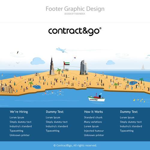 Contract & Go, Dubai - Footer Design