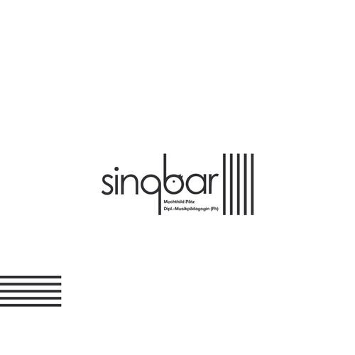 Create an logo for Singbar.