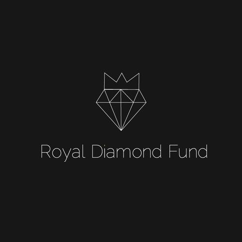 Simple logo design for Royal Diamond Found