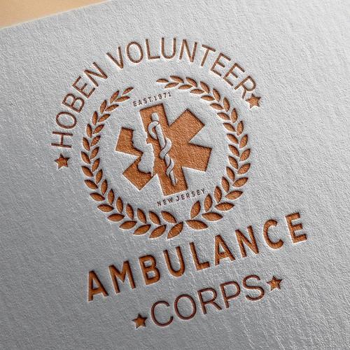 Logo Design For Hoboken Volunteer Ambulance Corps