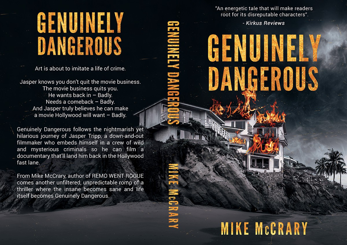 Genuinely Dangerous - book cover