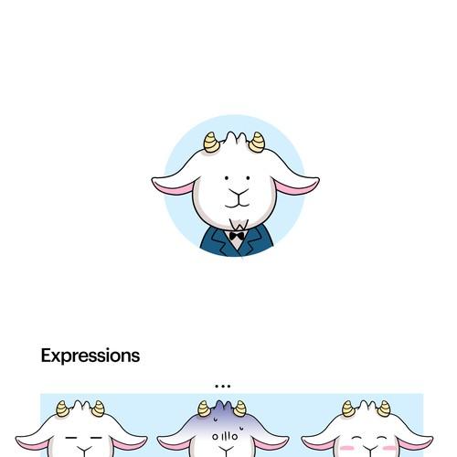 Goat Character design