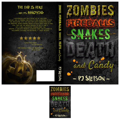 Zombies, fireballs, snakes, death and candy
