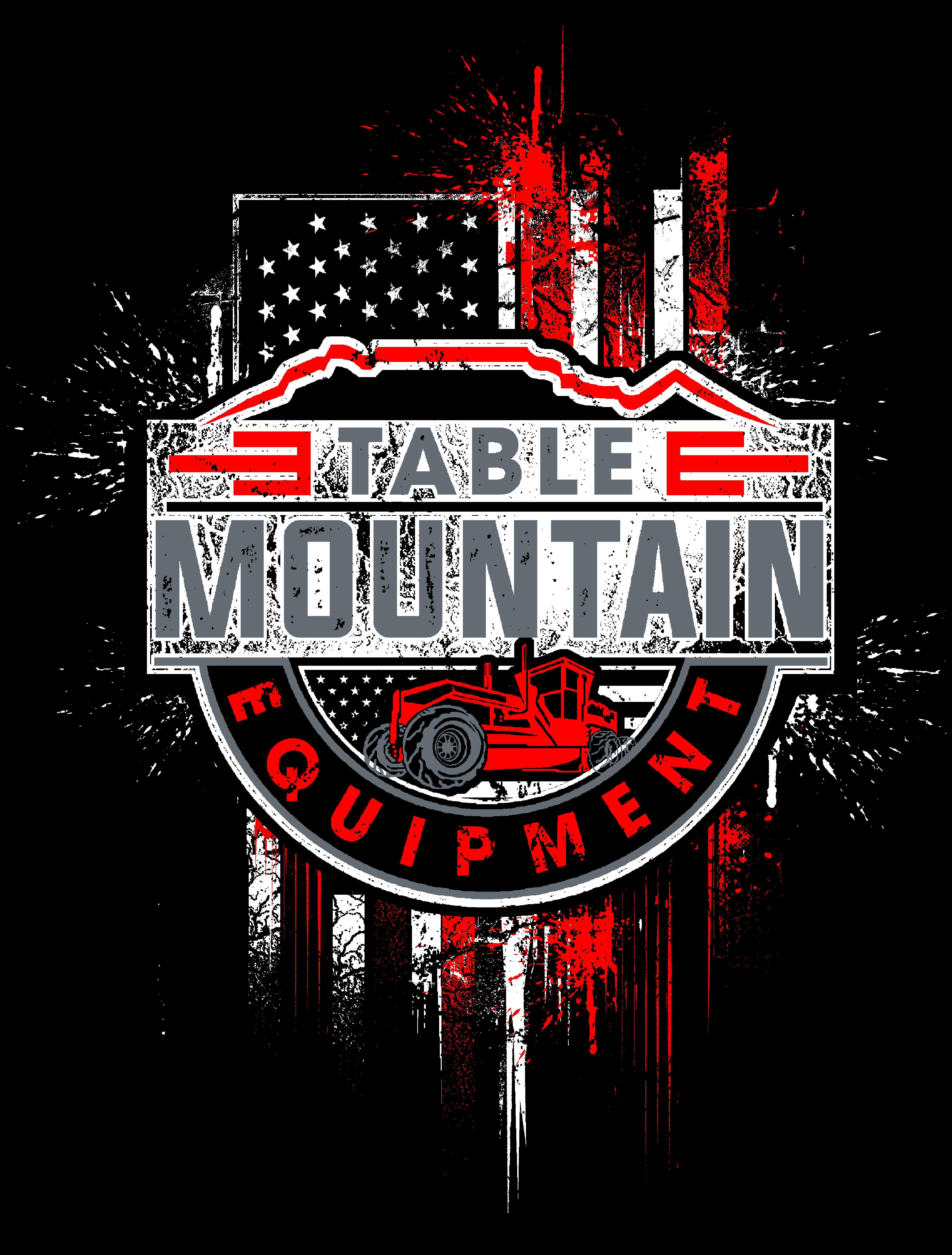 Heavy Equipment Company T-Shirt Design- Table Mountain Equipment