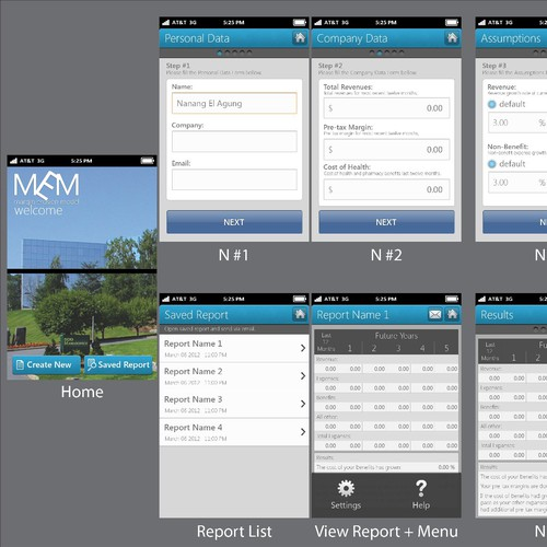Help York International Agency, LLC with a new mobile app design