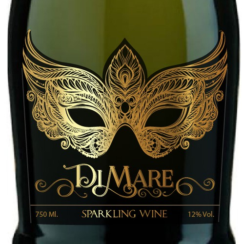 Up and coming sparkling wine brand needs stylish, vibrant and engaging label design