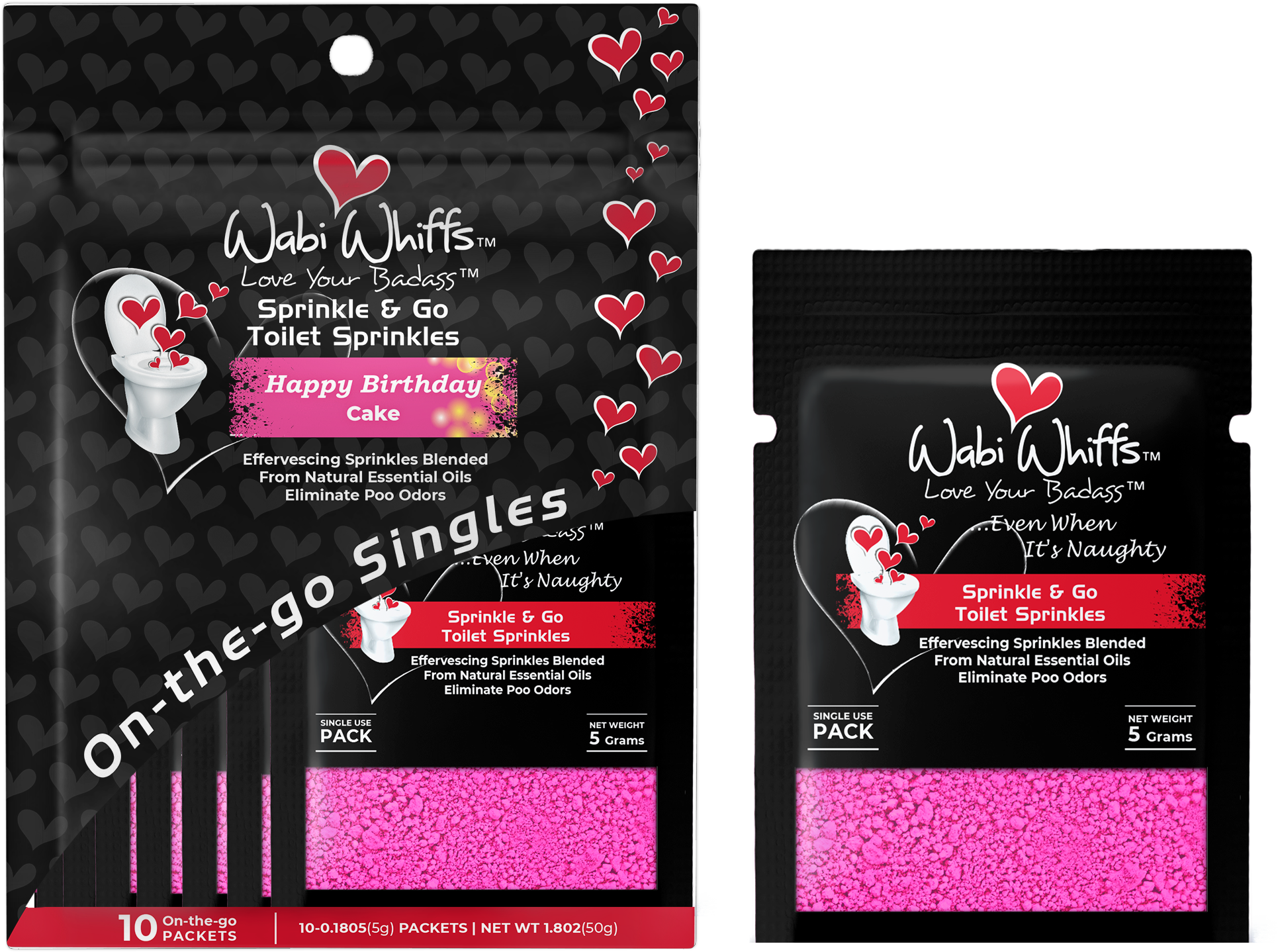 Wabi Whiffs On-Go Pouch w/ Master Pouch & Fragrance label