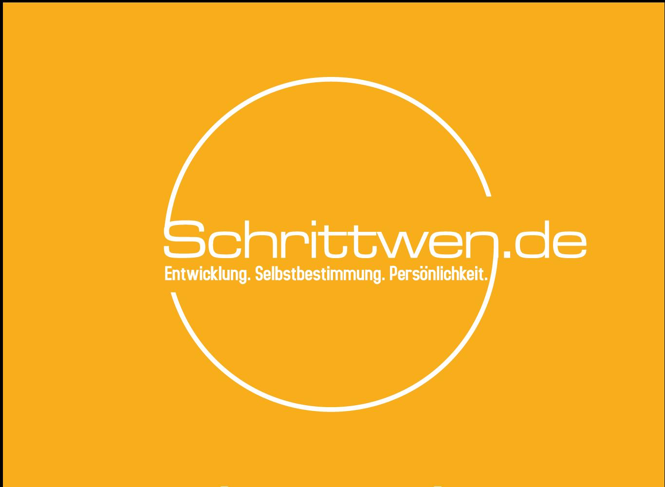 Schrittwen.de braucht ein klares aussagekräftiges Logo, dass freundlich, warm und positive ist