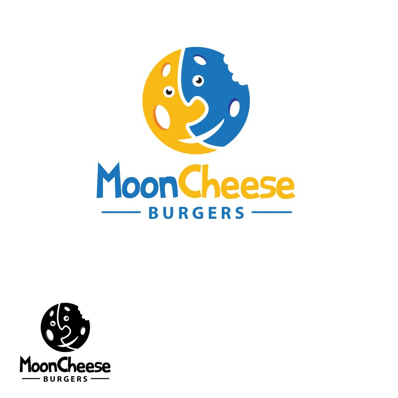logo for Moon Cheese Burguers
