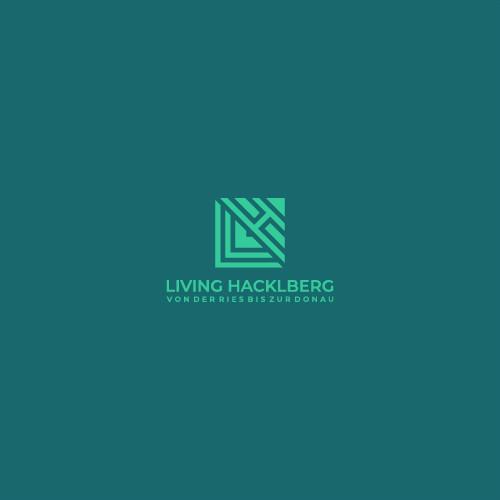 Letter L H logo design concepts