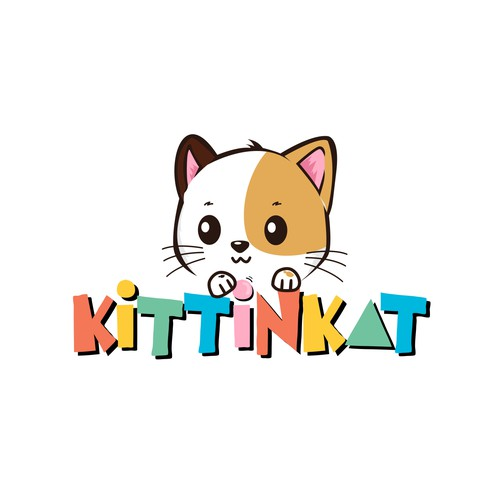 Cute logo for pets industry