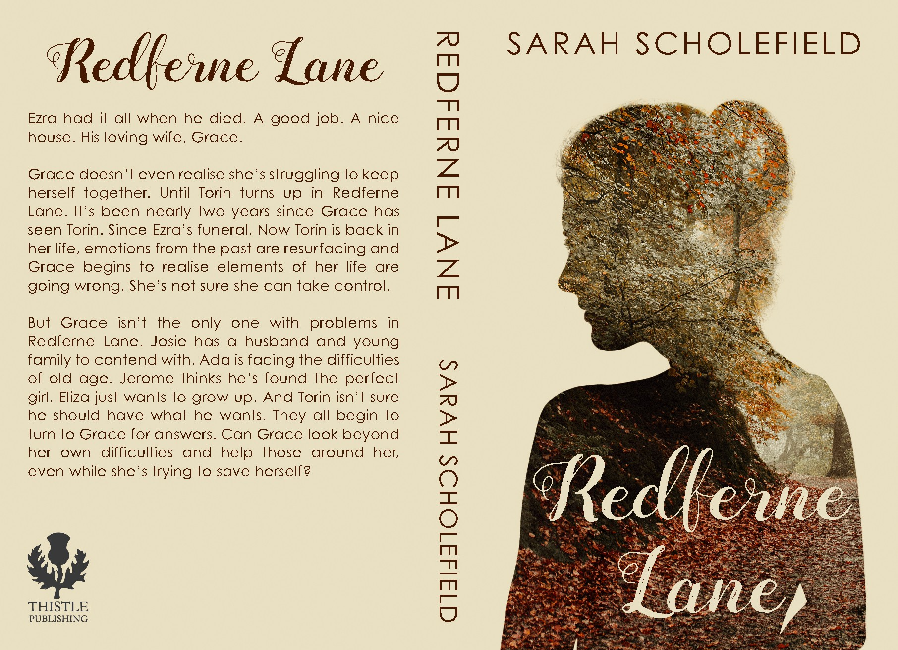Book cover for quality women's fiction novel
