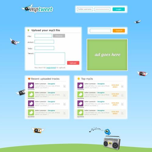 Design for new Twitter Service