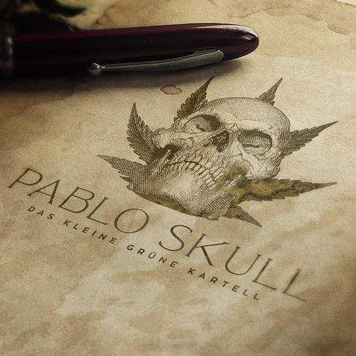 Pablo Skull logo design