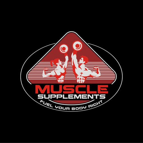 muscle supplements logo