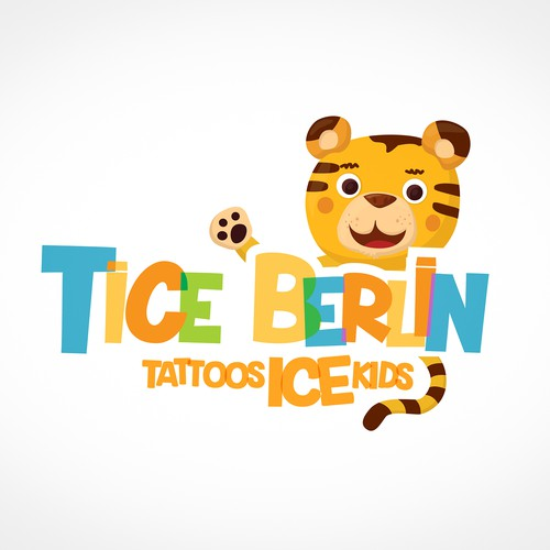Logo design for kids tattoos