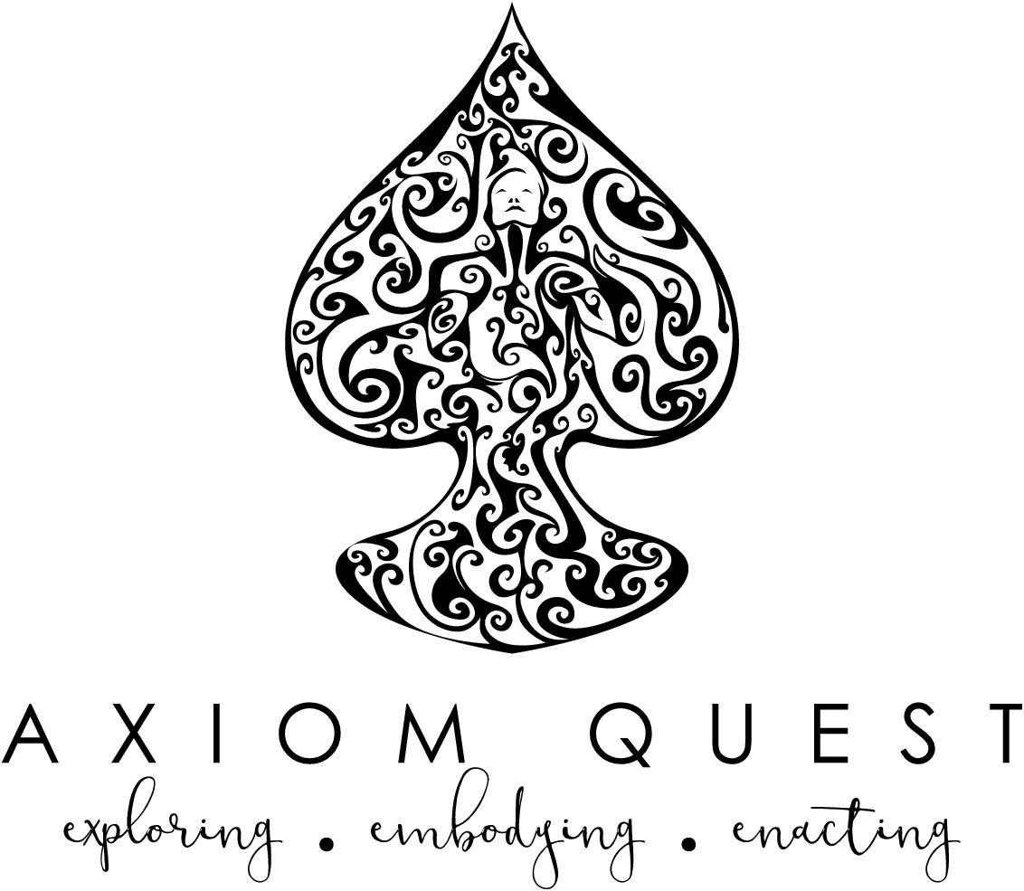Design inspiring logo & web attracting explorers seeking new ways of being 2 enact fulfilling future