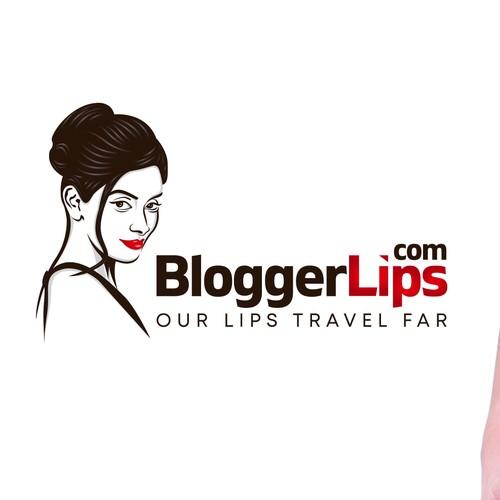 Logo design concept for a blogger.