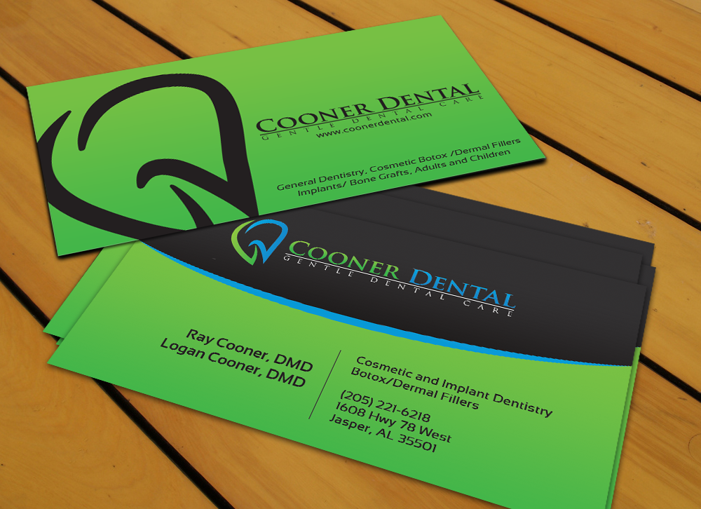 New stationery wanted for Cooner Dental