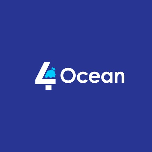 Logo Concept for Ocean Clean-up Organization