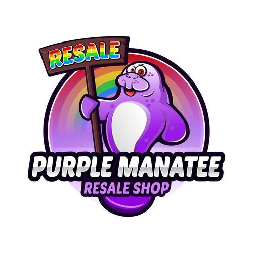 purple manatee