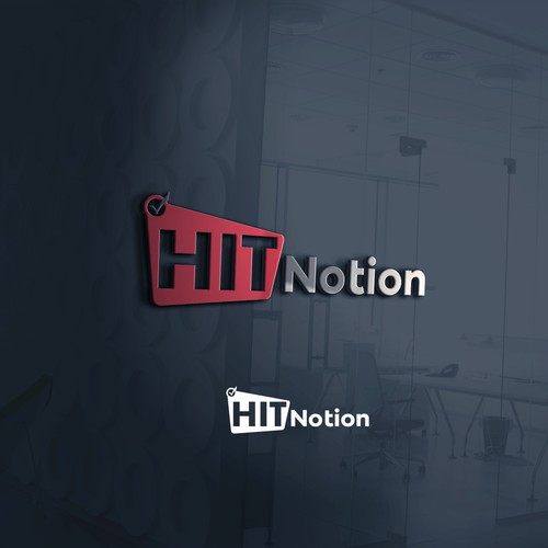 concept logo for hit notion