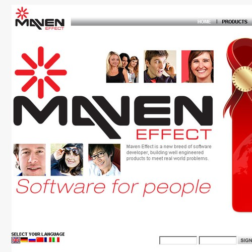 Maven Effect Home Page Update