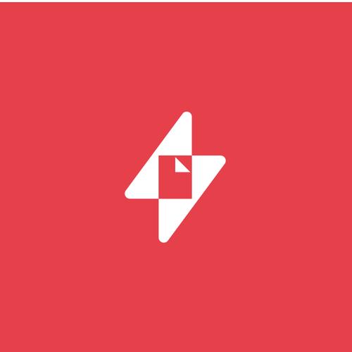 Logo concept for inline PDF editor.