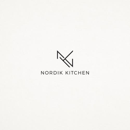 Logo concept for Nordik Kitchen