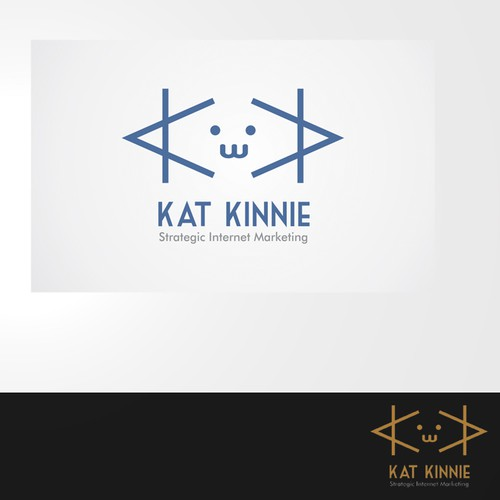 New logo and business card wanted for Kat Kinnie